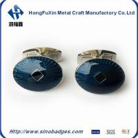 China Handsome Authentic Black Lacquer French Shirt Cufflinks for Mens wholesale