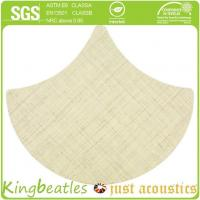 China Wool Silk Decorative Acoustics Tiles for Sound Absorbing and Insulation in Office, Hotel wholesale