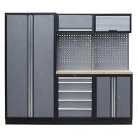 China Metal Furniture Garage Tool Storage Cabinets with Wall Cabinet on sale