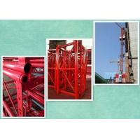 China Construction Cage Hoist Industrial Lifts Elevators For Transport Men And Cargo on sale