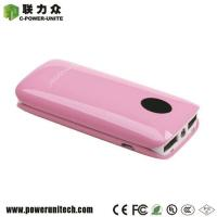 High Quality Externa Battery Power Bank 5000mAh with 2 USB Ports Manufactures