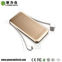 11400mAh Build-In-Cable Top Rated Battery Power Banks For Phones Manufactures