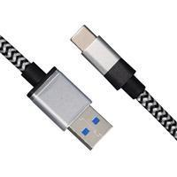 OEM/ODM ME-TC101 USB3.0 Type-C Data Cable 4A 3GB Nylon 0.08 Copper Wire Charger Cables 100CM