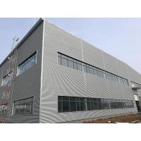 China Steel Structure Warehouse Construction Low - Cost Light Prefabricated Garage Steel Structure on sale
