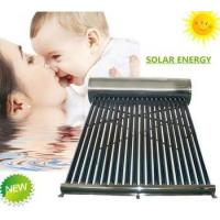 China Non Pressure vacuum tube solar energy system Solar Water Heater on sale