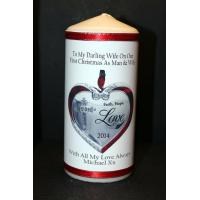 New Items Wife Christmas Personalised Gift Candle Manufactures