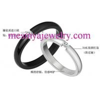 China 316L stainless steel lovers vanlentine couple tension set rhinestone Xmas gift promotion gift on sale