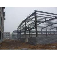 China H-section Industrial Steel Building Fabrication For Steel Column / Beam on sale