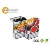 Fashion Tin Boxes With Lids Cigarette Metal Tin Can Pure Color For Gift Manufactures