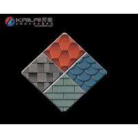 China Specialized material KLAI-201 colorful asphalt shingles on sale