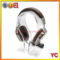 JC-08 Acylic Headphone Stand Manufactures