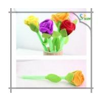 DOD ink niceniCustom promotional flower shape pens with logo/ Valentines gift Manufactures
