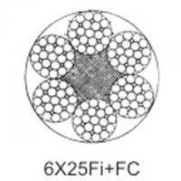 China Steel aircraft cable 6X25Fi+FC wholesale