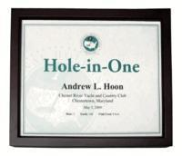 Christmas Decor Hole-In-One Shadow Box Certificate Frame Manufactures