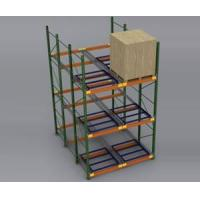 Buy cheap Heavy Duty Pallet Rack Push Back Rack from wholesalers