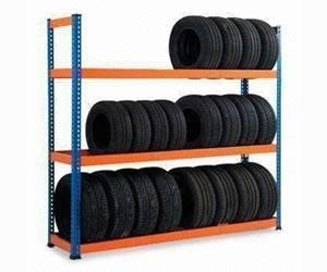Quality Light Storage Rack Tire Shelving Rack for sale