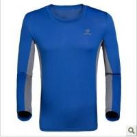 China T-shirt/Polo Round collar quick-drying long-sleeved T-shirt wholesale