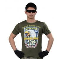 China T-shirt/Polo The 101th airborne division's speed dry T-shirt wholesale