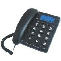 China New Big Button Corded Telephone Set with Caller ID Display on sale