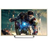 Gold Case 65Inch Super Thin 3D LCD Panel , Smart 4K Full HD TV Widescreen Manufactures