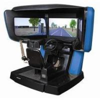 Buy cheap 3D driving test simulator , driver simulators for public security department from wholesalers