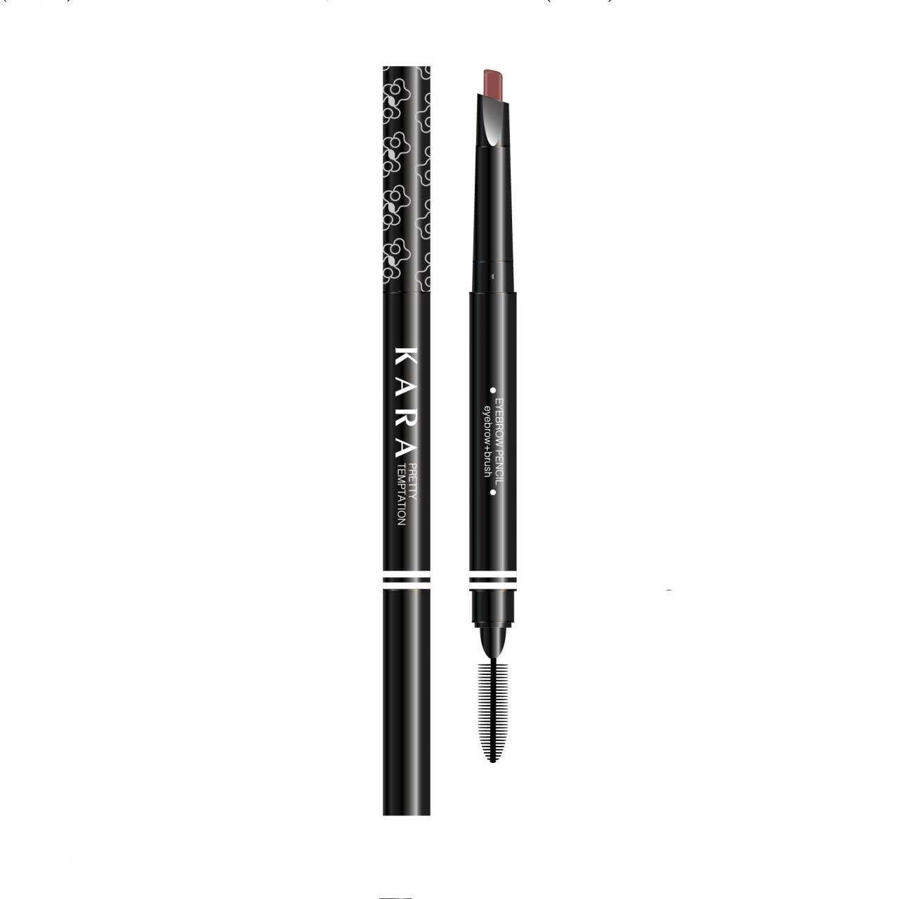 Beautiful charm double eyebrow pencil(with oval head) Manufactures