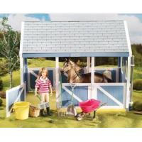 China Breyer Horses Classics Size Horse Stable Cleaning Play Set wholesale