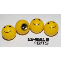 23007 Car Tire Tube Bicycle Valve Core Cover,Cycle Smile Face Dustproof Cap Manufactures