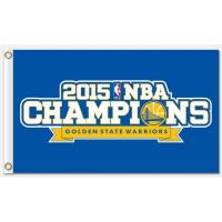 China NBA Golden State Warriors 3'x5' polyester flags characters on sale