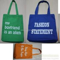 China fashionable canvas tote bags for gift promotion WW120817004 on sale