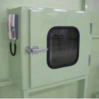 China Hospital Cleaning Rooms Stainless Steel Electronic Interlock Pass Box with UV Lights Equipment wholesale