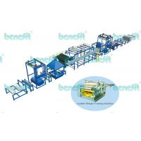 China Colored asphalt shingle production machinery on sale