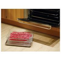 China Stainless Steel Jerky Shooter With 3 Chorm Plated Rack / 18 X 13 Aluminum Pan on sale