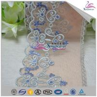 China High Quality Colorful Bridal Cotton Eyelet Lace Trim for Garment on sale