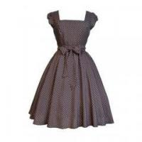 New Arrival Plus Size Women Clothing Summer Cap Sleeve Polka Dots Vintage Dress Manufactures