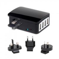 Power Solutions EQC-013 4 USB travel charger Manufactures