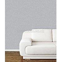 China Arthouse Opera Raffia Silver Wallpaper 670901 - Textured Grass Weave Effect by Arthouse on sale