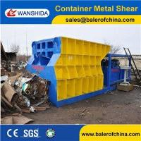 China WANSHIDA Waste Scrap Steel Container Metal Shear Cutting Machine China manufacturer on sale