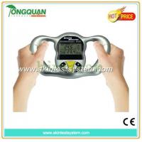China electric hottest sales digital mini handy body fat analyzer with lcd display wholesale