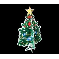 China Corrugated Christmas Tree with Hooks, Cardboard Hook Display Stand for Christmas Gifts on sale