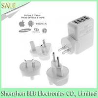 5V 2.1A 4 port USB wall charger Manufactures