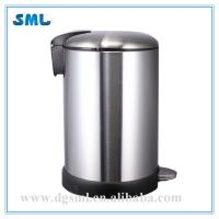 China 20L Stainless steel trash can wholesale
