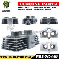 China Factory Direct Sale High Quality Motorcycle CBT125 CYLINDER with Piston Kit in White Color on sale