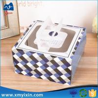 China With handles collapsible cardboard box on sale