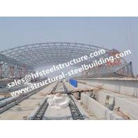 China H-beam column Type Steel Structure Buildings , Structural Steel Fabricator on sale