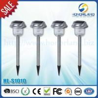 600mAh Stainless Solar Light Manufactures