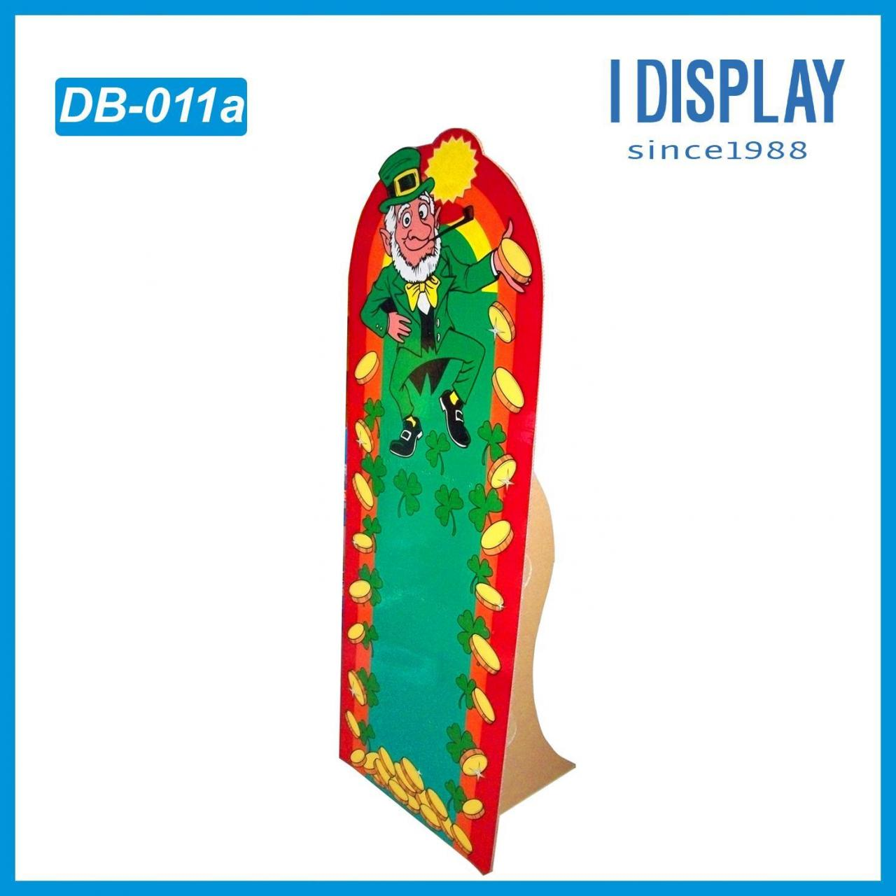 Designed paper advertising standee display board floor stand I DISPLAY Manufactures
