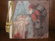 China CHRISTMAS Terra Traditions - Santa & Baby w/Crystals - Med. Album on sale