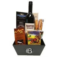 China California Wine & Coffee Gift Basket for Him on sale