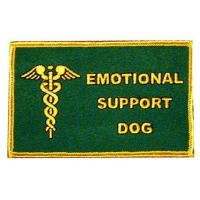 EMOTIONAL SUPPORT DOG EMOTIONAL SUPPORT DOG PATCH Manufactures